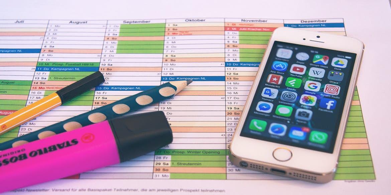Digital Media Tracker and Planner