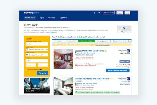 Booking.com: A 5-Star Marketing Performance