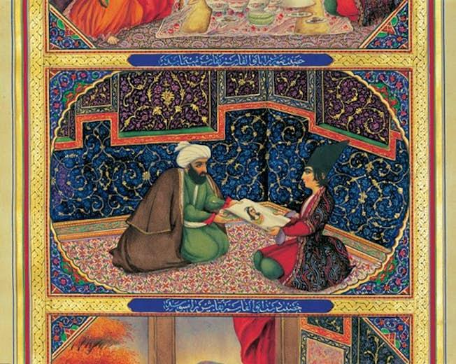 Scheherazade, by Sani al Mulk (Abu'l-Hasan)
