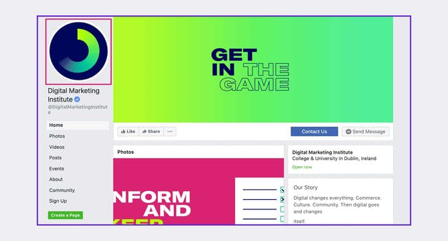 How can I create a Facebook Business page?