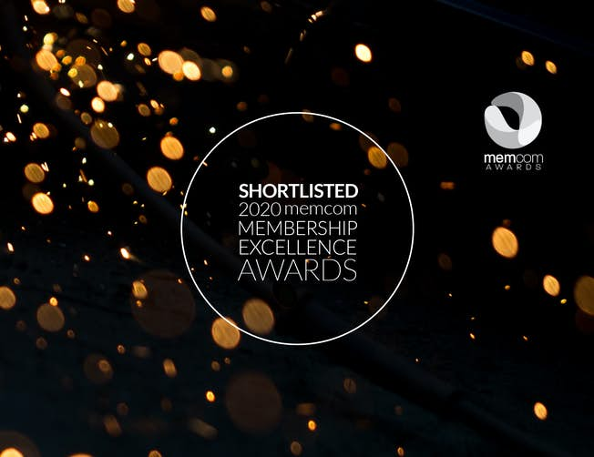 In Good News. We've been shortlisted for 2 Awards. Membership Organisation of the Year and Best E-learning / Online Education Initiative