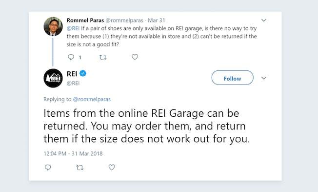 REI: An Outstanding Social Media Success