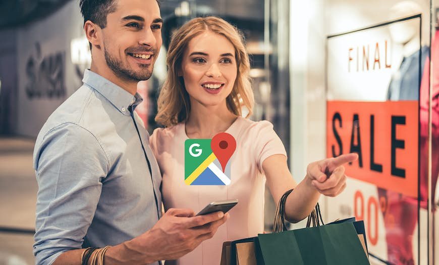 Offline-Online Attribution with Google Maps