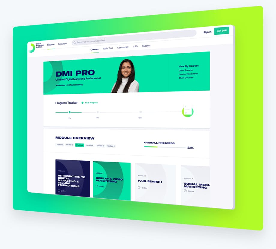 Premium Digital Learning.  100% online